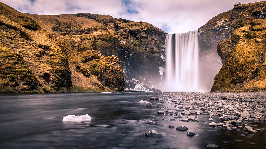 Skogafoss waterfall, Iceland picture