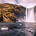 Skogafoss waterfall - Iceland - Landscape photography by Giuseppe Milo (www.pixael.com)