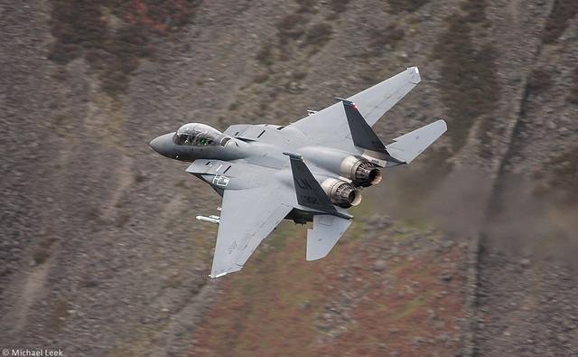 USAF McDonnell-Douglas F-15E Strike Eagle AF91-0302; 492nd Fighter Squadron, 48th Fighter Wing, RAF Lakenheath, Suffolk, England