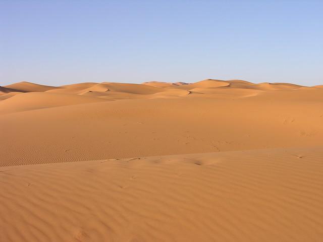 Dunes de Merzouga (Maroc), Nikon E8800