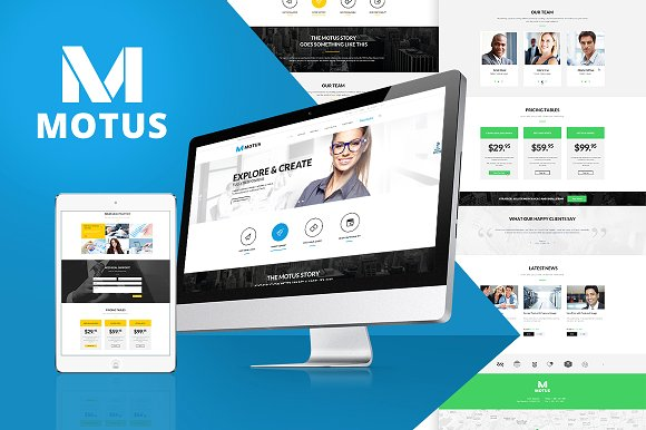 Motus v1.0 – Business & Corporate WP Theme