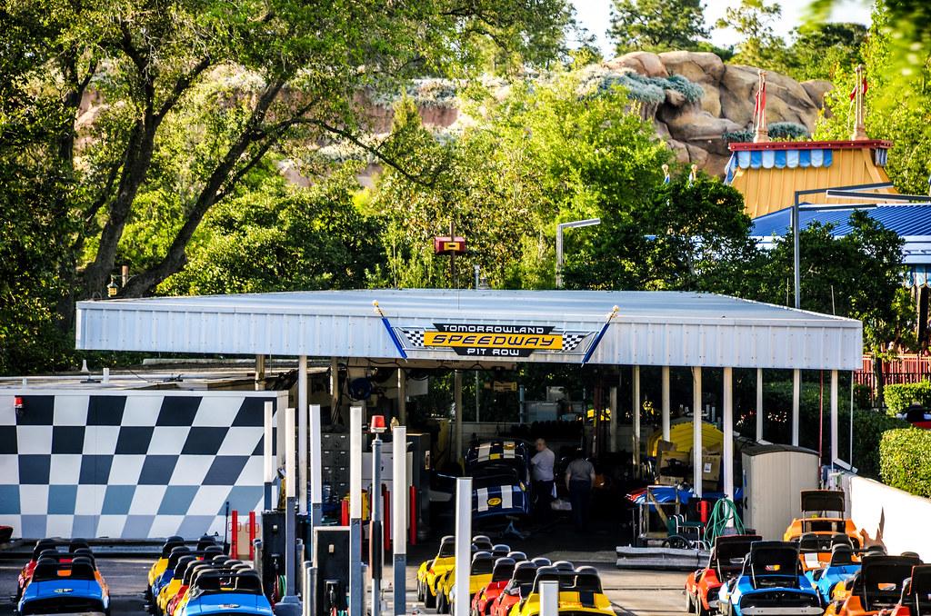 Tomorrowland Speedway cars