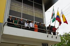 Izaron las banderas en el Palacio Municipal en conmemoración al 5 de Mayo
