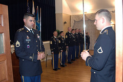 NCO Induction Ceremony for 229th MI Bn