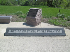 Site Of First Court DeKalb County IL