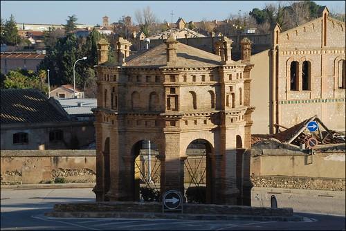 Templete del Crucifijo (Tarazona, Aragón, España, 28-12-2011)