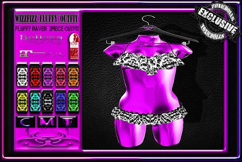 [TD] WizzFizz Fluffy Outfit - SecondLifeHub.com