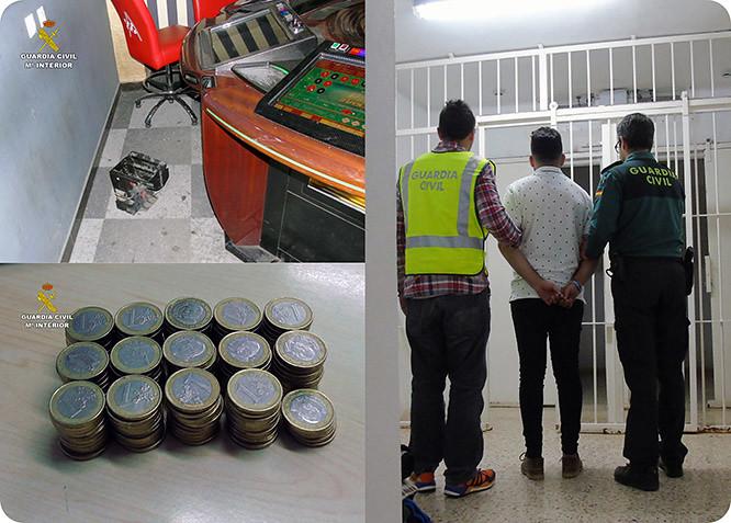Detienen a tres jóvenes por el robo de un salón recreativo en Los Belones
