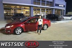 #HappyBirthday to kassandra from Antonio Page at Westside Kia!