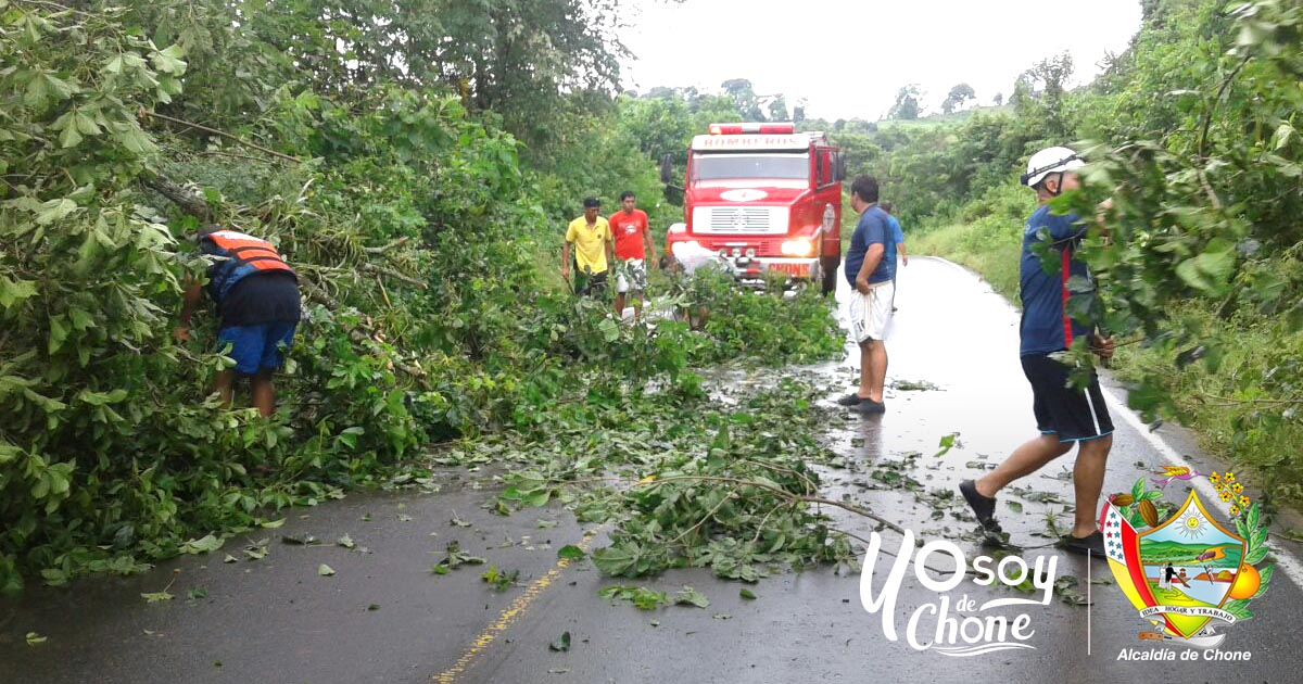 Lluvias causan problemas en zonas rurales de Chone