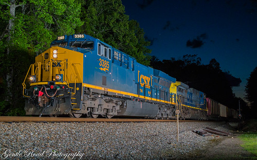 night clinchfield flash csx coal brice cliffside dkpx marion north carolina