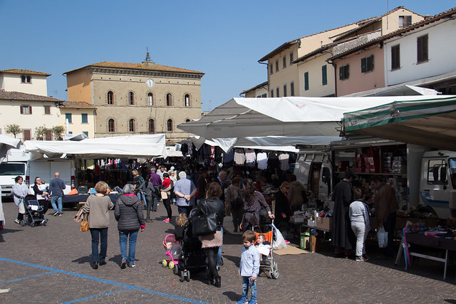 Saturday Market - Greve in Chianti