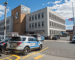 NYPD Police Station Precinct 48, Tremont, New York City