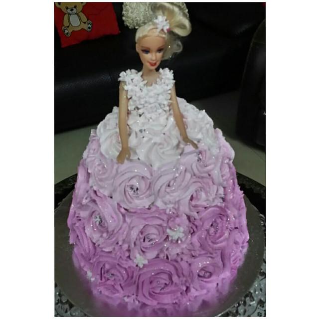 Barbie Cake for Birthdays by Fatima Fernandes