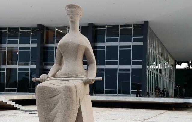 Em paralelo, oBrasil tem menos juízes proporcionalmente: são 8,2 paracada cem mil habitantes, enquanto aAlemanha tem 24,7 - Créditos: Agência Brasil