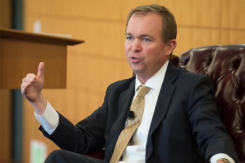 Mick Mulvaney OMB Dir. student talk_18