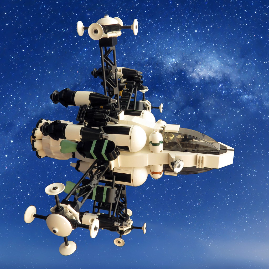 Orion Mk I Interceptor (custom built Lego model)