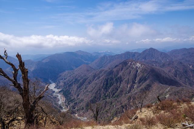 熊木沢と臼ヶ岳