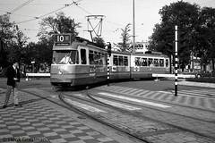 Hailing the tram