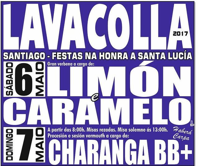Santiago de Compostela 2017 - Festas de Santa Lucía en Lavacolla - cartel