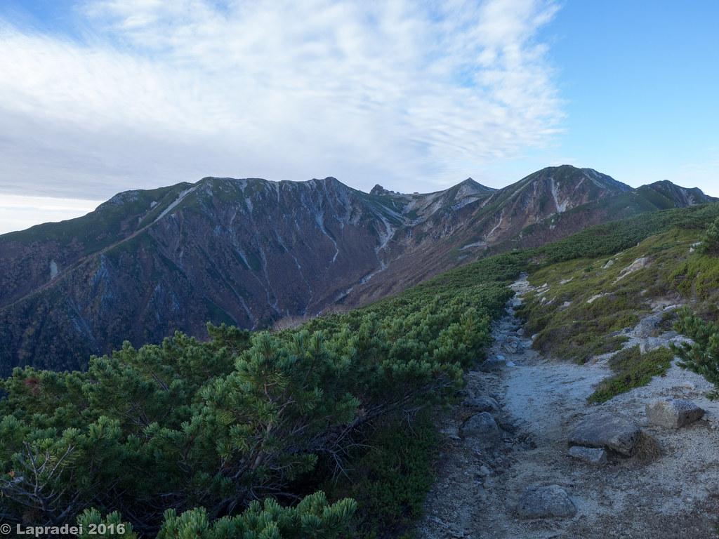 木曽駒ヶ岳へ