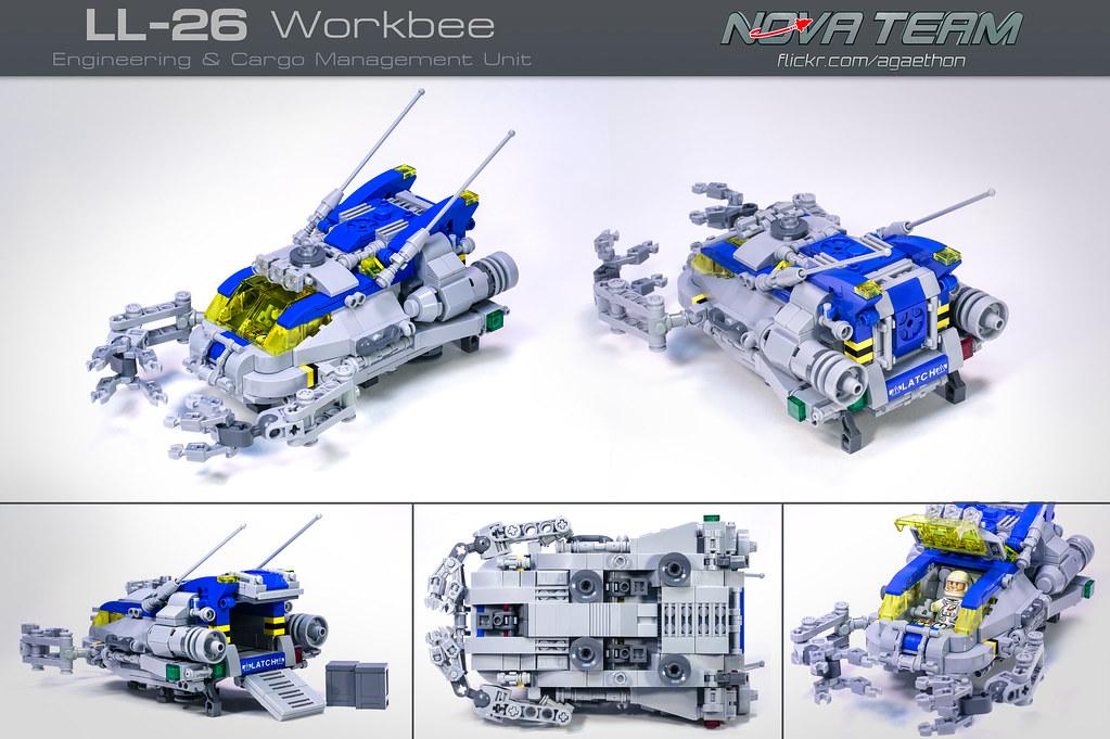 LL-26 Workbee (custom built Lego model)