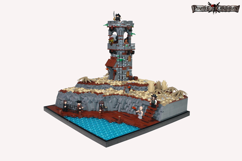 PotC 4: Whitecap Bay (custom built Lego model)