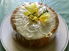 Orange Clementine's lemon cake