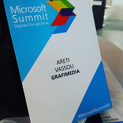 Microsoft Summit Greece ready to #Digitize #Disrupt #Drive #Technology  #Microsoft #Grafimedia #HealthIT #Saas #IoT #IoMT #Athens #Greece #DigitalHealth #MicrosoftSummitGR