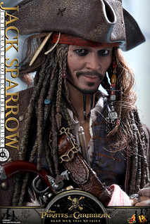 Hot Toys - DX15 - 《神鬼奇航5:死無對證》1/6 比例 傑克·史派羅 Pirates of the Caribbean: Dead Men Tell No Tales Jack Sparrow