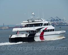 Provincetown III Passenger Ferry, NYC Ferry Rockaway Route, New York Harbor