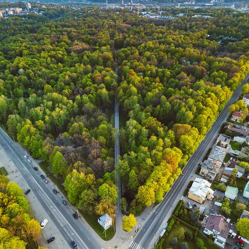 sunset oakwood park city kaunas spring lietuva dronas 2017 europe djieurope baltic lithuania drone aerial aerialphotography dji djimavicpro mavic pro mavicpro birdseye landscape djiglobal oak grove žaliakalnis ąžuolynas