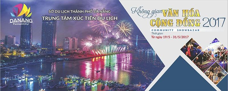 DIFF 2017: Không gian đặc sắc về văn hoá trong Lễ hội pháo hoa quốc tế Đà Nẵng 2017