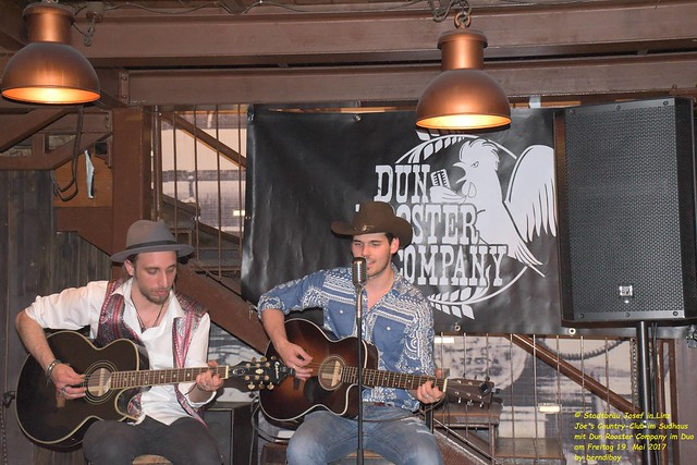 2017.05.19. Stadtbräu Josef in Linz Joe's Country-Club im Sudhaus mit Dun Rooster Company im Duo