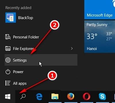 Hướng dẫn thay đổi kích thước chuột và màu sắc chuột trên Windows 10