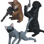 世界一流的間諜就在你我身邊!T-ARTS「SPY ANIMAL」轉蛋機密大公開!