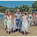 The Ladies - A Greek Wedding - Strole along the Beach to in Zante (Olympus OMD EM5II & Panasonic G 35-100mm f2.8 telephoto)