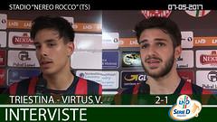 Triestina-Virtus V. del 07-05-17