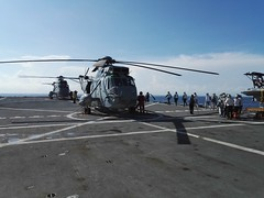 "SH-3D ""Sea King"" on the helo deck of ESPS Galicia"