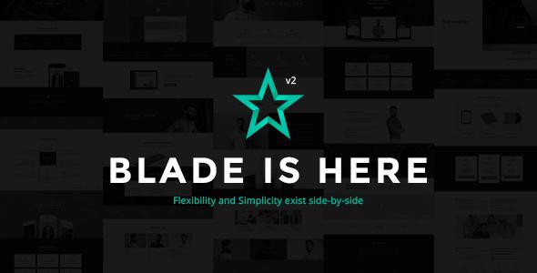 Blade v2.8.6 - Responsive Multi-Functional Theme