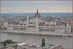 Hungarian Parliament Building Budapest.