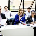 qua, 17/05/2017 - 07:18 - Recepção da representante da Secretaria Municipal de Saúde, Taciane Lima Carvalho, para tratar de temas relacionados à saúde da população LGBTIQ em BH.Foto: Rafa Aguiar