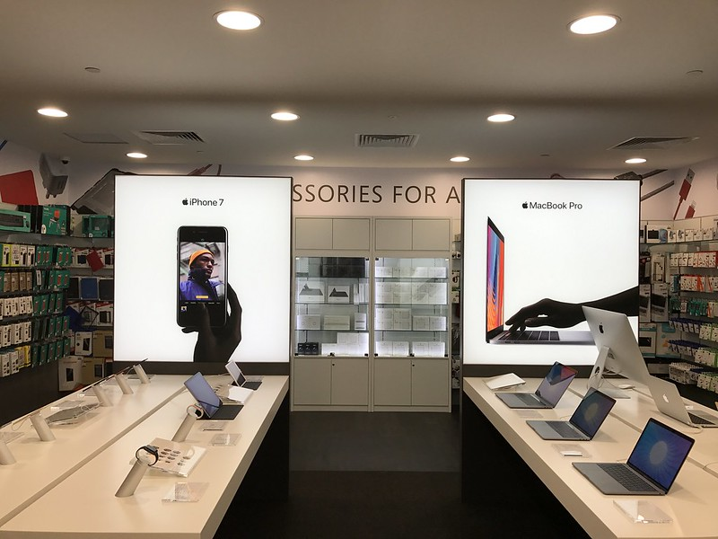 Challenger Flagship Store (Bugis Junction) - Apple Section