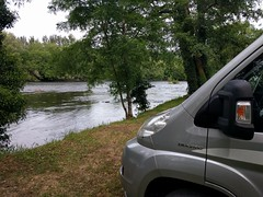 Camping by the Dordogne