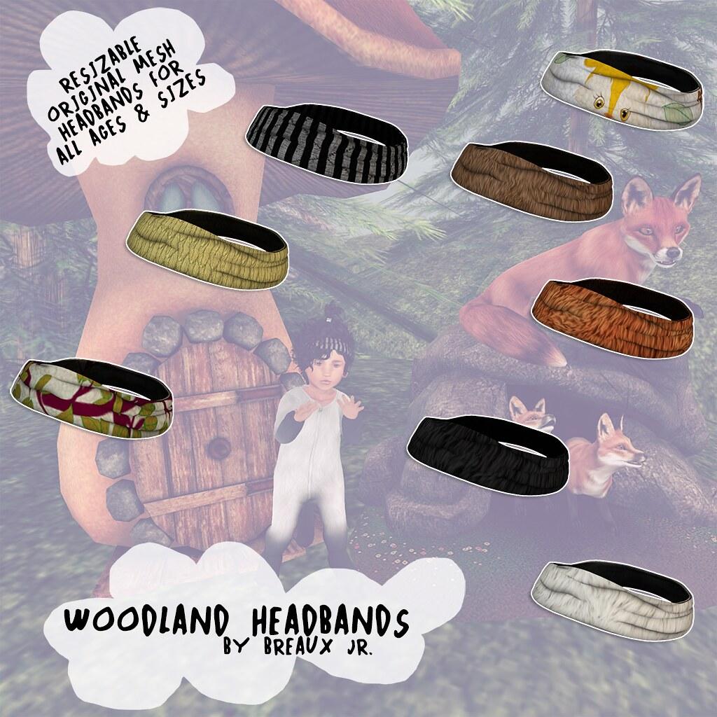 Woodland Headbands Gacha at Thimble - SecondLifeHub.com