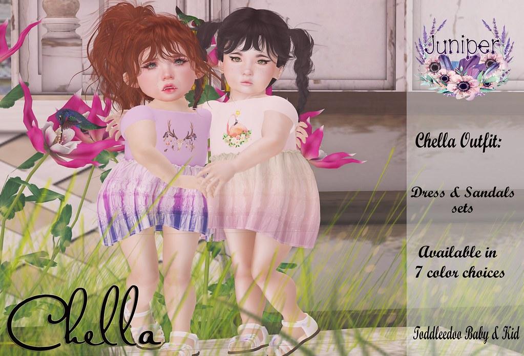 {Juniper} Chella @ The mainstore for May Shop Hop! - SecondLifeHub.com