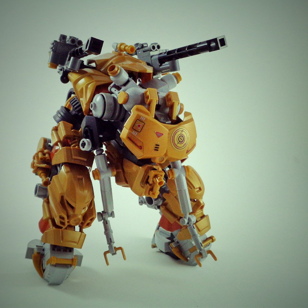Die Sache II Mech (custom built Lego model)