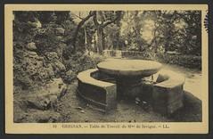 Grignan. - Table de Travail de Mme de Sévigné