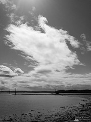 High Clouds Over a Low Tide, Oak Harbor, Washington, Spring 2017 (iOS)