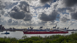 Oil Tanker 'Nave Electron' - Calandkanaal - Port of Rotterdam